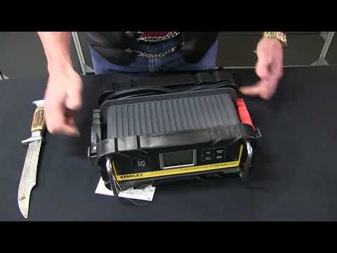 Stanley 25 Amp Battery Charger and Maintainer