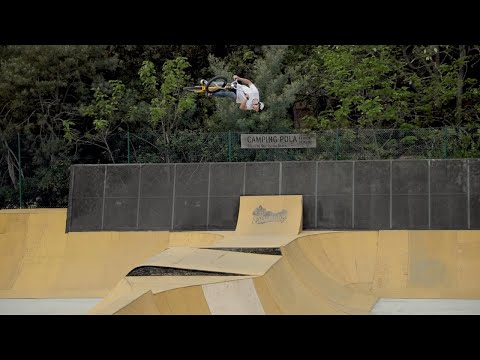 Unbelievable backflip! tall order day 2 In BMX paradise