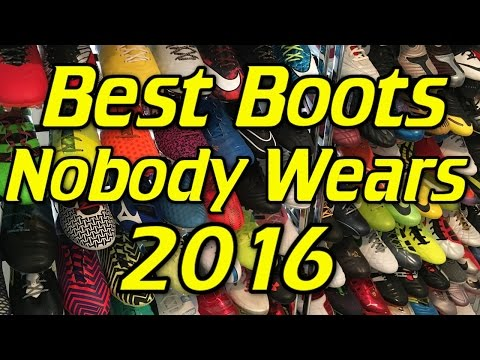 Best Soccer Cleats/Football Boots That Nobody Wears - 2016