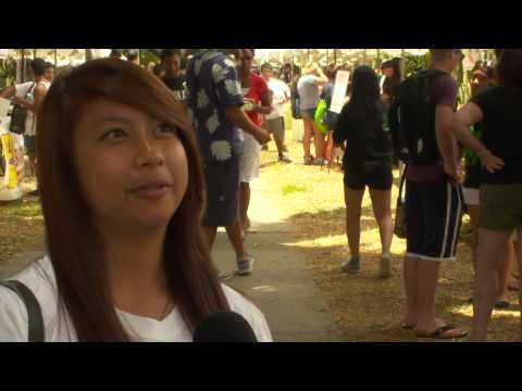 New UH Manoa students receive Warrior welcome