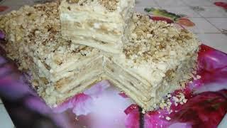 Торт без выпечки из печенья. НА КУХНЕ У ЦЫГАНОЧКИ.