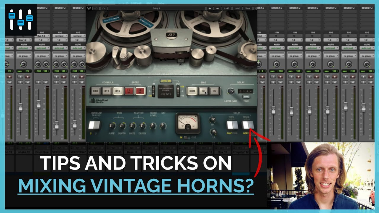 Mixing Trumpet: Using Effects to Create a Vintage Vibe in the Mix