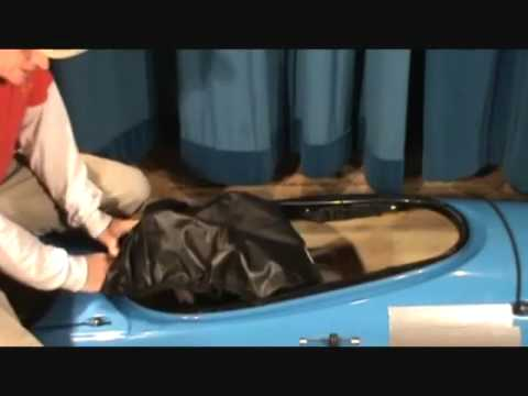 How to Install a Seals Cockpit Cover on a Standard Cockpit Rim