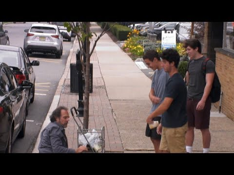 What Would You Do: Teen boys verbally, emotionally abuse homeless person
