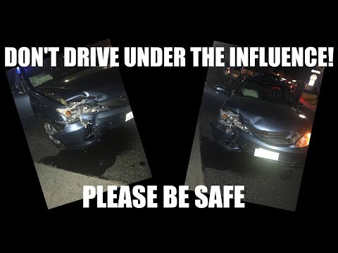 DON'T DRIVE UNDER THE INFLUENCE! | MY STORY