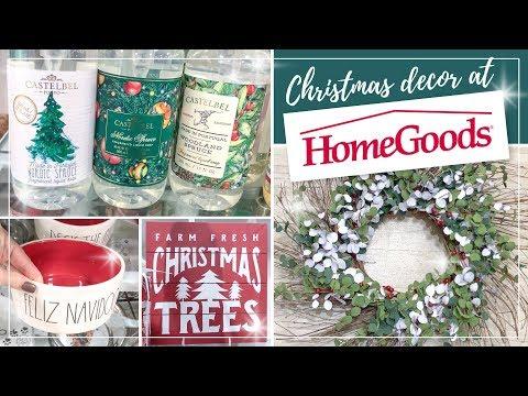 Home Goods Christmas Decor Shop With Me 2019 🎄 Christmas Decoration Ideas