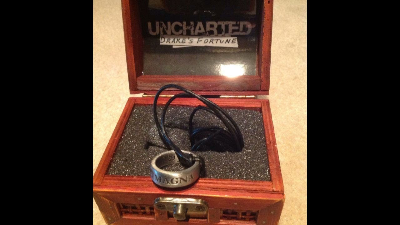 Uncharted Drake S Fortune Collectible Ring Youtube