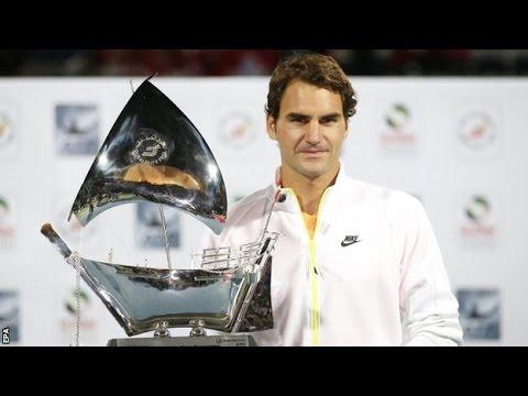 | Roger Federer | | Novak Djokovic | Dubai Open Final Highlights