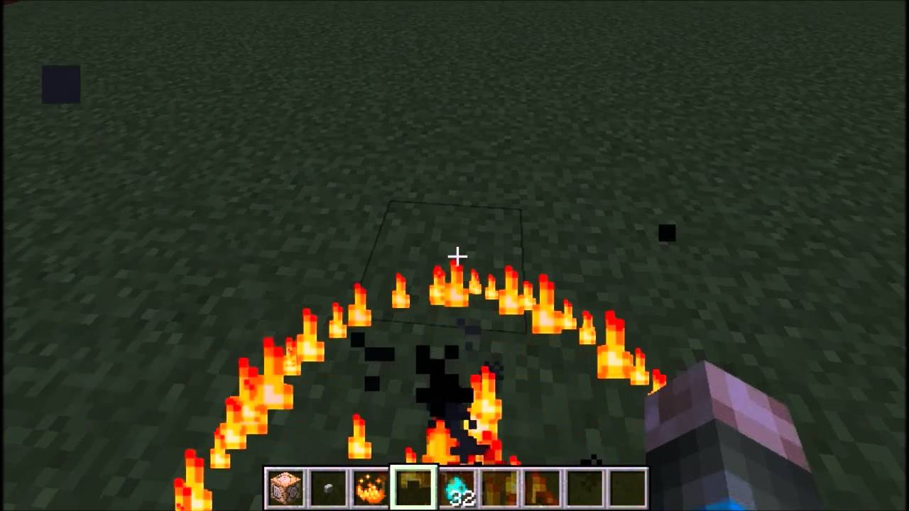 Flame Pulse - Minecraft vanilla particle effect