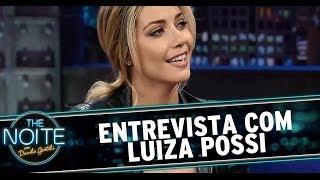 The Noite 13/06/14 (parte 1) - Entrevista Luiza Possi