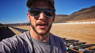 Shooting 1000 Guns AT ONE TIME!!! World Record!