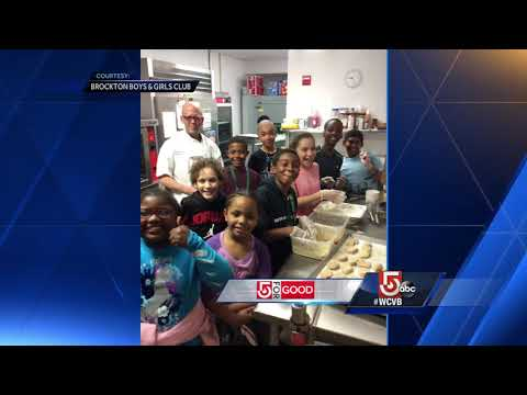 5 For Good: Boys and Girls Club serving dinner to families