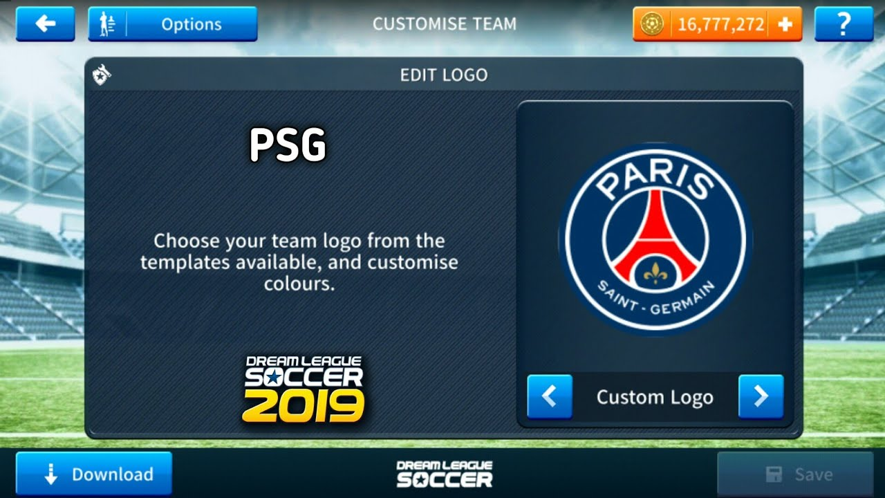 promo code ebdc0 eefe5 How To Import PSG Logo And Kits In Dream League Soccer 2019