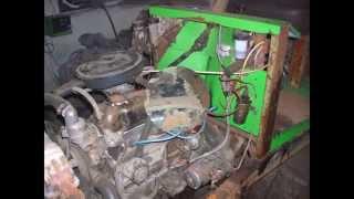 Сборка самодельного трактора Монстрик.Полноприводный с двс Уаз,кпп Газ -51,Рк Газ-66.
