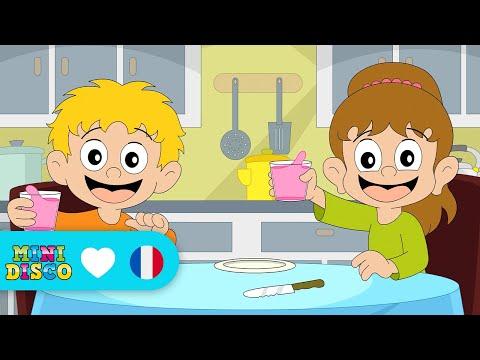 Sur La Table | Chansons pour enfants | Les comptines | Chansons à danser par Minidisco