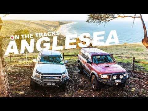 ANGLESEA, VIC 4WD / On The Tracks EP2 - NEARLY DROWNED THE RANGER