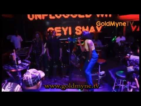"""Seyi Shay Performing """"Crazy"""" at One Night Live & Unplugged"""