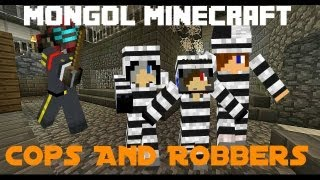 Mongol Minecraft: Cops and Robbers Mini Game Round 1