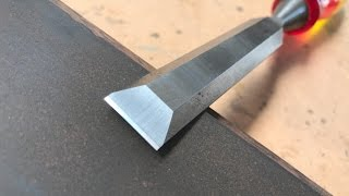 Woodworking, The Art Of Sharpening Chisels