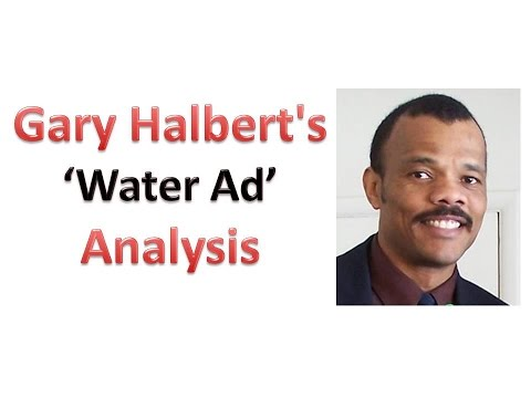 Analysis of Gary Halbert's famous 'Water Ad' sales letter
