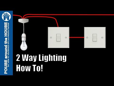 How to wire a 2 way light switch 2 way lighting explained