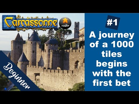 How to win Carcassonne: Beginner strategy (ELO 1200 - 1225) - game 1 |