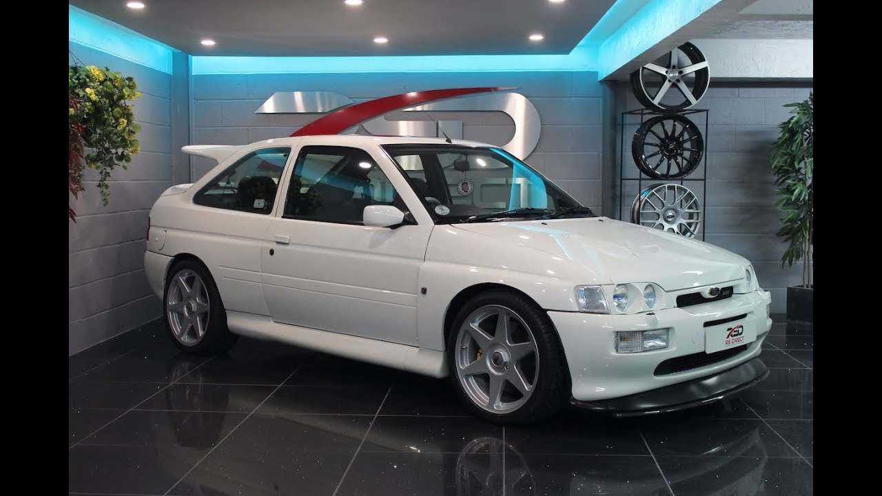 FORD ESCORT RS COSWORTH FOR SALE UK RS DIRECT - YouTube