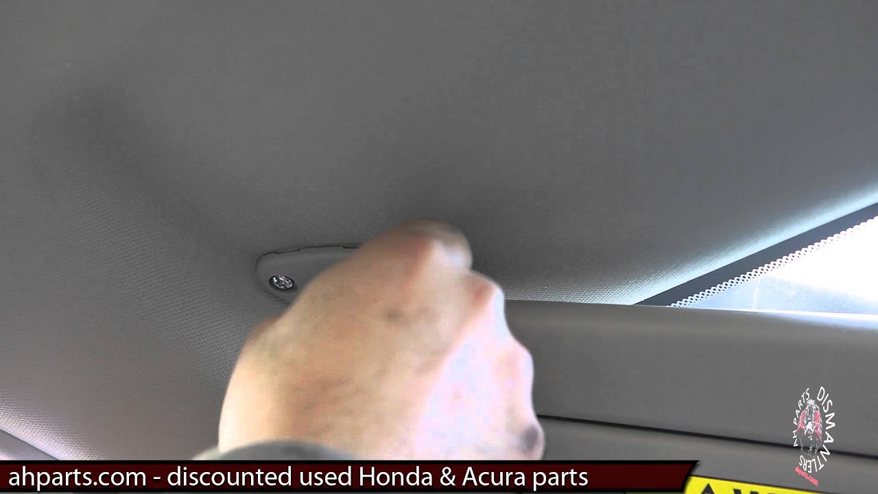 maxresdefault sun visors replacement how to replace install change tutorial 2008 Honda Accord Schematic at crackthecode.co