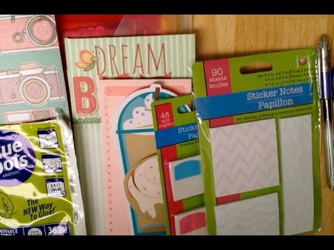 e2715ac9c6 My DOLLAR TREE Office Supply Planner Supply Favorites!!! - YouTube