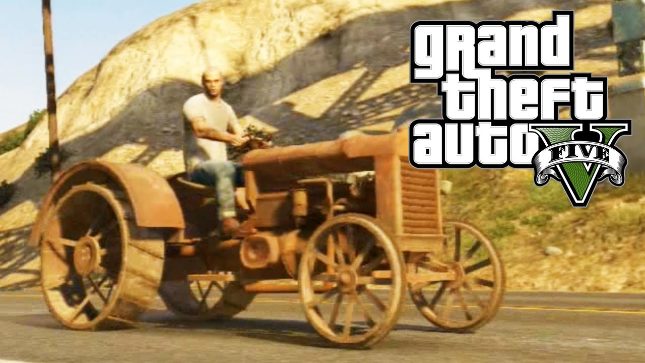 Gta 5 Secret Cars Rusted Tractor Gta V Youtube