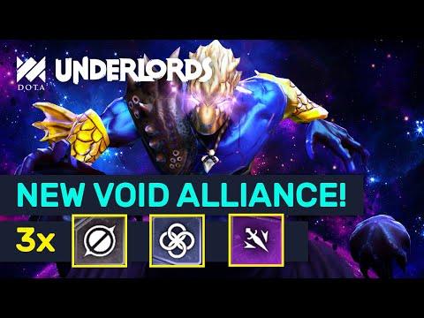 NEW Void Assassins Combos! Spirits Triangle + Pure DMG! | Dota Underlords