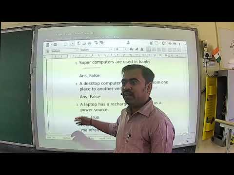 Mr Vikash Mishra Class 6 Computer Chapter 1 Part3 (06-05-2020)
