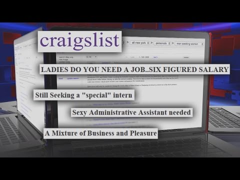 Undercover Investigation Reveals These Craigslist Job Postings Are Sex for Hire