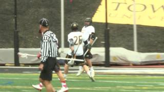 Towson Tigers Top 10 Moments of 2015-2016: #4 MLAX tops Fairfield for back to back CAA titles