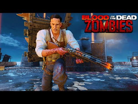 BLACK OPS 4 ZOMBIES BLOOD OF THE DEAD GAMEPLAY WALKTHROUGH (Call of Duty Black Ops 4 Zombies) thumbnail