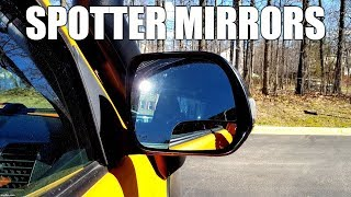 Spotter Mirrors Eliminate ALL Toyota Tacoma Blindspots (ON & OFF road) thumbnail