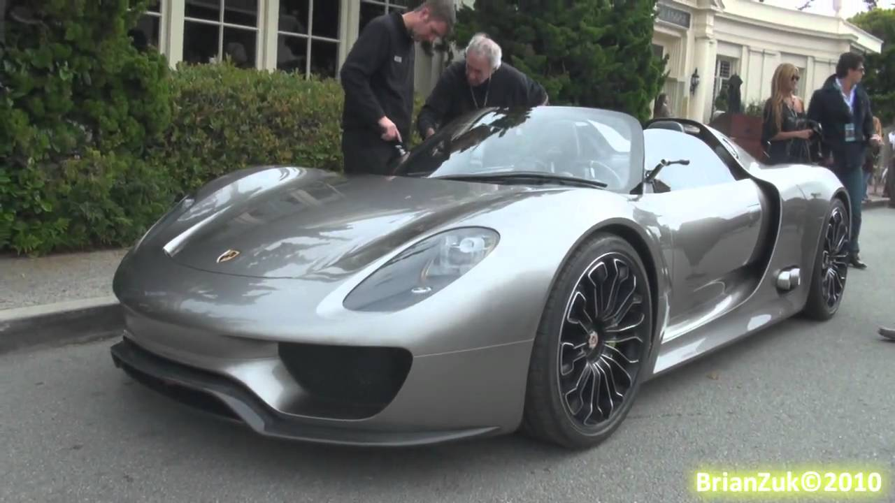 porsche 918 spyder on the road youtube. Black Bedroom Furniture Sets. Home Design Ideas