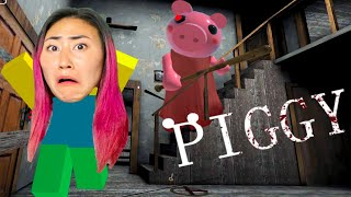 CAN LIZZY CAPRI ESCAPE PIGGY?? (Roblox Gaming for 24 Hours)
