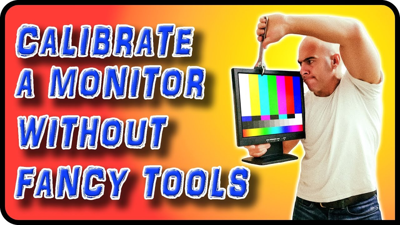 How To Calibrate a Monitor Without a Colorimeter - Stock Photography Ep  8