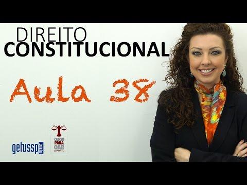 Aula 38 - Direito Constitucional - Formação E A Nexação De Estados E Municípios Da CF