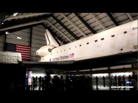 Tour of the Space Shuttle Endeavour Exhibit at California Science Center