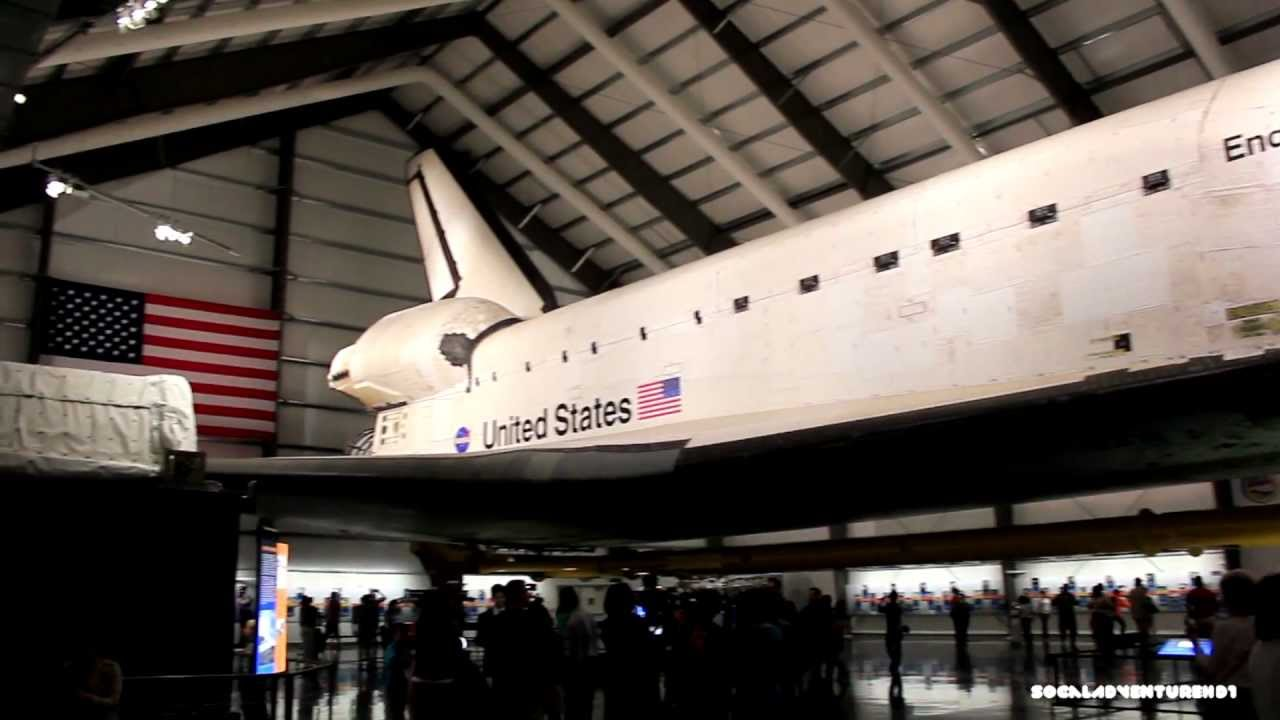 Tour of the Space Shuttle Endeavour Exhibit at California Science
