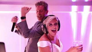 Behind the scenes with DJ Kevin Snow at Courtney & Taylor's wedding!