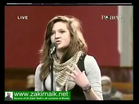 "Dr  Zakir Naik - Oxford Union Secretary asking about ""Hijab"" ?"