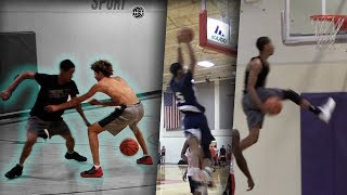 Melo Ball's Cousin Andre Ball is the MOST ATHLETIC in Highschool Basketball!?
