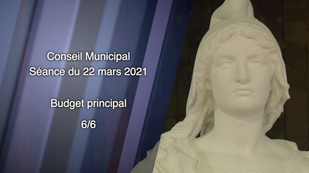 22 MARS 2021/EP8 - SÉANCE DU CONSEIL MUNICIPAL