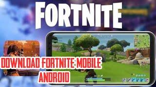 Cara download FORTNITE MOBILE