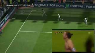Топ-5 лучшие голы в FIFA 14
