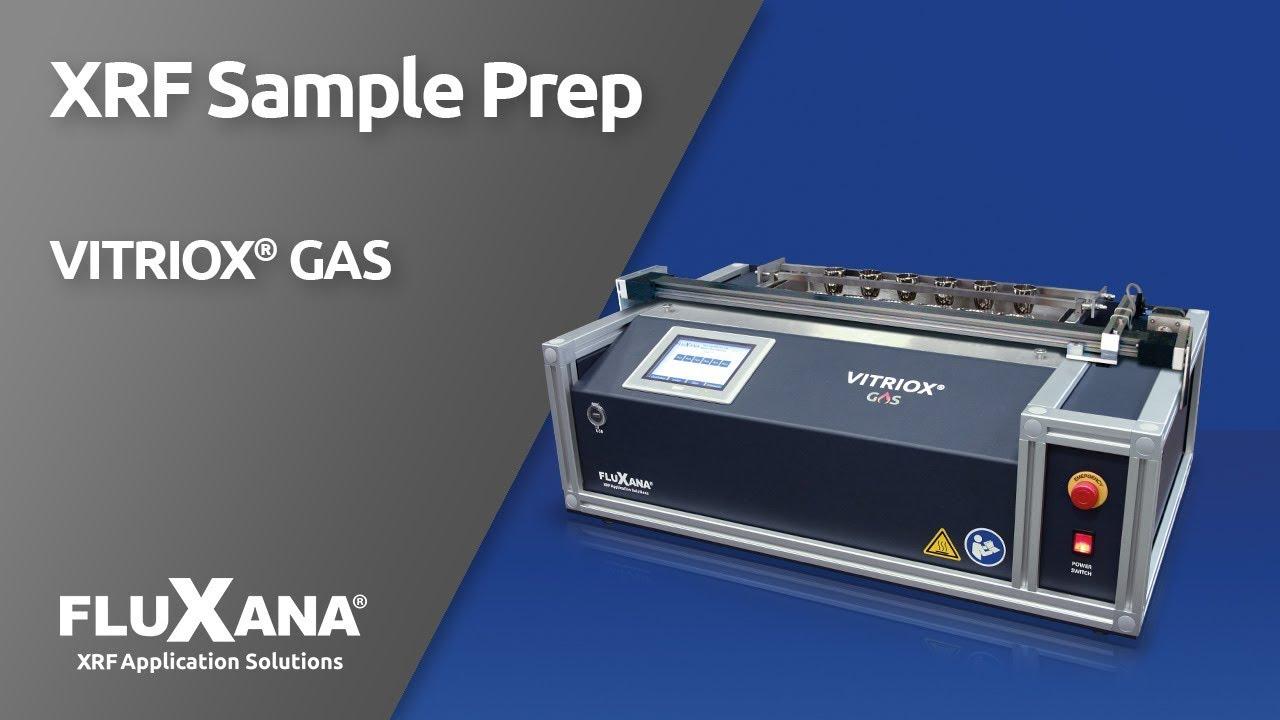 FLUXANA VITRIOX GAS fusion machine for X-ray fluorescence analysis (XRF)