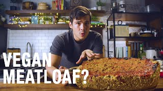 Cooking A Vegan Christmas Dinner in 60 Minutes ( Oat Nut and Bean Loaf)